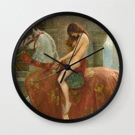 LADY GODIVA - JOHN COLLIER Wall Clock