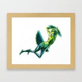 March - Thaw Framed Art Print