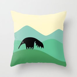 Anteater Hills Throw Pillow