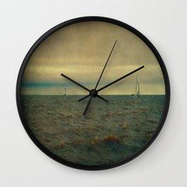 I'm Sailing Away Wall Clock