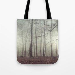 mood scape - mist woodlands Tote Bag