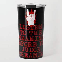 Heavy Metal Screaming Travel Mug