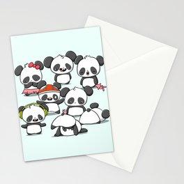Kawaii Panda Doodle Stationery Cards