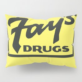Fay's Drugs   the Immortal Yellow Bag Pillow Sham