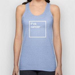Fuck cancer Unisex Tank Top