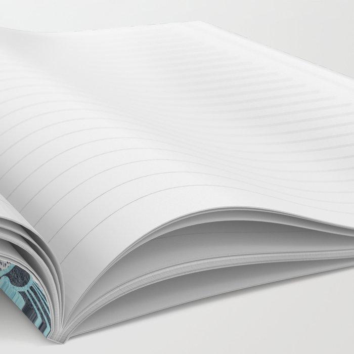BOHOCHIC MANDALA IN BLUE Notebook