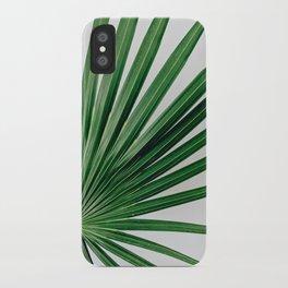Palm Leaf Detail iPhone Case