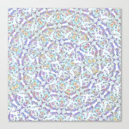 Ring of Angels Pattern Canvas Print