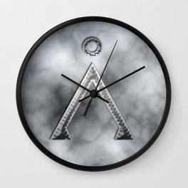 Stargate and smoke Wall Clock