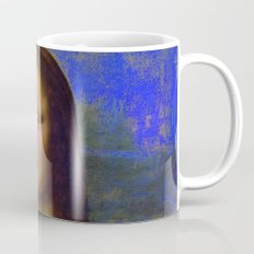 Mona Lisa's Haze (blue) Mug