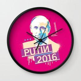 Putin 2016 Wall Clock