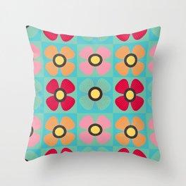 Poppy Multi Throw Pillow