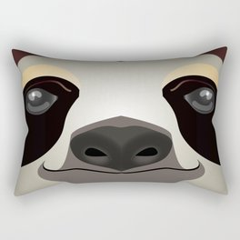 2D sloth Rectangular Pillow