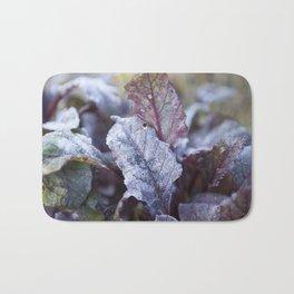 Frozen Beetroot Bath Mat
