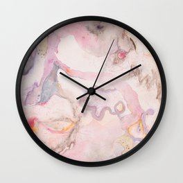 Soft and Wild Wall Clock