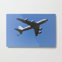 USAF KC-135R Stratotanker Fly-by Metal Print