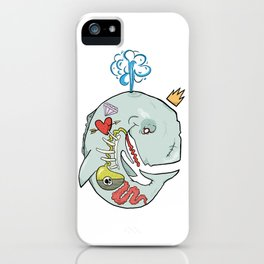 Whale's Belly iPhone Case