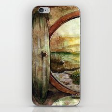 The World is Ahead iPhone & iPod Skin
