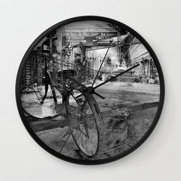 Transportation Wall Clock