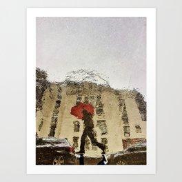 Refections in Paris II Art Print