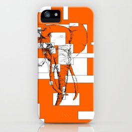 Orange is the New Elephant iPhone Case