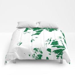 Green Base Comforters