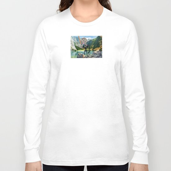 Holiday am KönigsSee 1 Collage Long Sleeve T-shirt