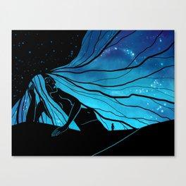 Meeting the Goddess Canvas Print