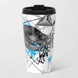 Triangle of life Metal Travel Mug