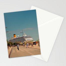 City boat Lisbon Stationery Cards
