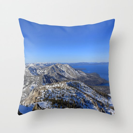Maggies Peak Throw Pillow
