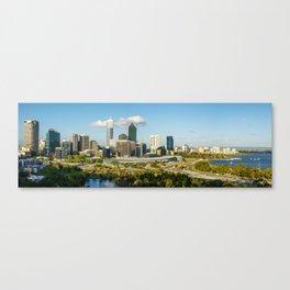 Perth City Skyline, Western Australia Canvas Print