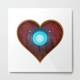 Iron Heart Metal Print