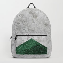 Concrete Arrow Green Granite #412 Backpack