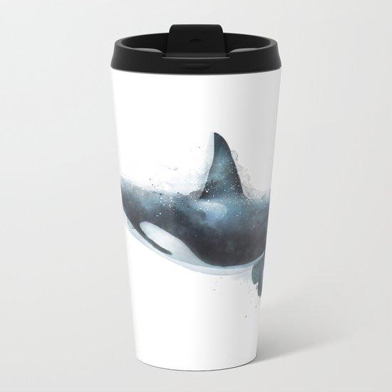Orca Metal Travel Mug
