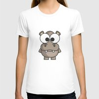 hippo T-shirts featuring Hippo by binbinrobin