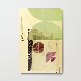 205 (Forensic Love Story) Metal Print