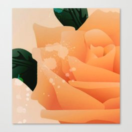 Tea Rose Canvas Print