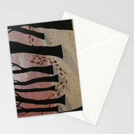 Leaf On The Wind Stationery Cards