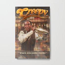 Cosby's Bar Metal Print