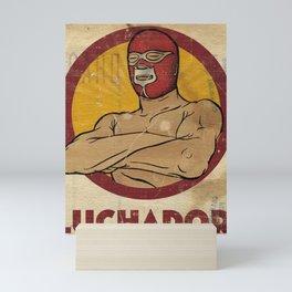 Luchador Mini Art Print