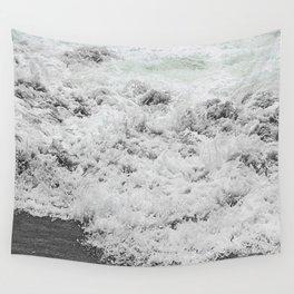 Minty Splash Wall Tapestry