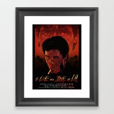 To Live And Die in L.A. Framed Art Print