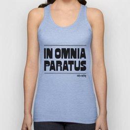 In Omnia Paratus Unisex Tank Top