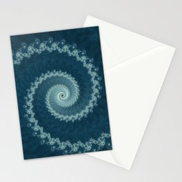 Pacific Vortex - Fractal Art  Stationery Cards
