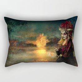 Setting the world on fire Rectangular Pillow