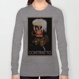 Vintage poster - Contratto Long Sleeve T-shirt