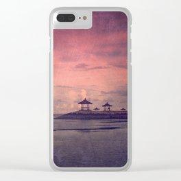 Sanur Serenity Clear iPhone Case