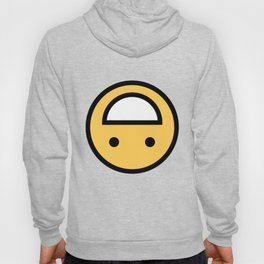 Smiley Face   Upside Down Happy Laughing Smileys Hoody