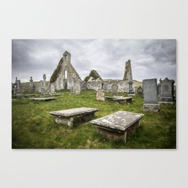 Balnakeil Church Canvas Print